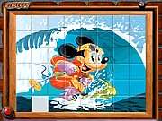 Thumbnail of Sort My Tiles Surfing Mickey