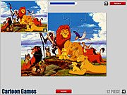 Lion King Jigsaw thumbnail