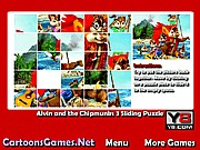 Alvin and the Chipmunks 3 Sliding Puzzle thumbnail