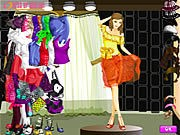 Thumbnail of Shining At Night Dressup