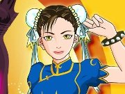 Thumbnail of Chun Li Dress Up
