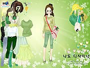 Thumbnail of Green Life Dressup