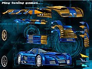 Thumbnail of Blue Demon Car