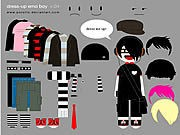 Little Emo Boy Dress Up thumbnail