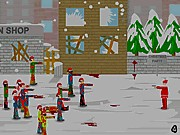 Thumbnail of Christmas Zombie Defence