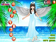 Angel Walking On The Beach thumbnail