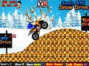 Thumbnail of Sonic ATV Snow Drive