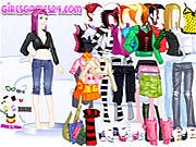 Thumbnail of Casual Girl Dressup