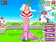 Thumbnail of Pink Barbie Dressup