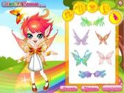 Thumbnail of Rainbow Fairy Dress UP