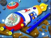 Thumbnail of Mario Space Racing