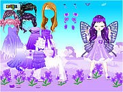 Thumbnail of Fairy of March Flower Violet