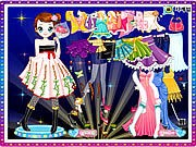 Thumbnail of Kim Dancer Dressup