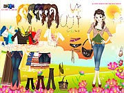 Thumbnail of Flower Field Dress Up