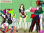 Thumbnail of Artist Girl Dressup