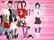 Thumbnail of Cartoon Print Dressup 2
