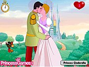 Princess Cinderella Kissing Prince thumbnail