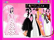 Thumbnail of Umbrella Gown Dressup