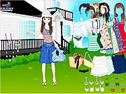 Thumbnail of Summer Garden Dress Up