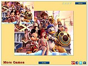 Cartoon Heroes Jigsaw thumbnail