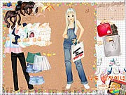 Thumbnail of Shopping Girl 4 Dress Up