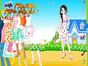 Thumbnail of Blue House Spring Dressup
