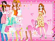 Thumbnail of Pink Heart Dressup