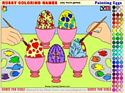 Thumbnail of Painting Eggs - Rossy Coloring Games