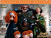 Thumbnail of Brave Merida Hidden Alphabet