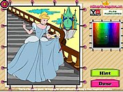 Disney Princess Cinderella Coloring thumbnail