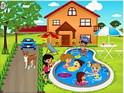 Kids Swimming Pool Decor thumbnail