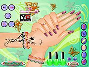 Thumbnail of Galatic Nail Art
