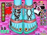 Monster High Foot Makeover thumbnail