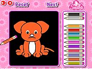 Thumbnail of Cute Pets Coloring