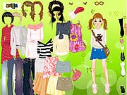 Thumbnail of Cool for School Dress Up