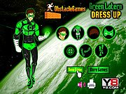 Thumbnail of Green Lantern Dress Up