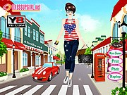 Thumbnail of Street Girl Dress Up