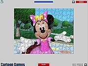 Thumbnail of Minnie Mouse Jigsaw Game