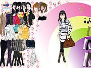 Thumbnail of Rainbow Boots Dress Up