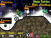 Thumbnail of Ninja Turtles Bike Challenge