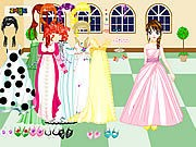 Thumbnail of Castle Gown Dressup