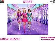 Thumbnail of Barbie At School Jigsaw