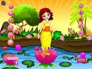 Thumbnail of Lotus Girl Dressup