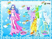 Thumbnail of Aquarius Zodiac Dress up