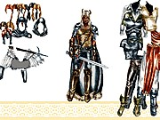 Thumbnail of Fantasy Dress Up dolls