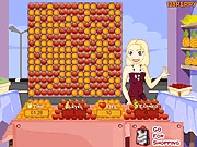 Thumbnail of Shop N Dress Fruit Cascadel Game: Chiffon Dress