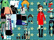 Thumbnail of Party Doll Dressup