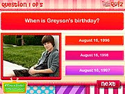Thumbnail of Greyson Chance Quiz