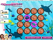 Thumbnail of Sea Life Memory Game