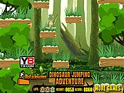 Thumbnail of Dinosaur Jumping Adventure